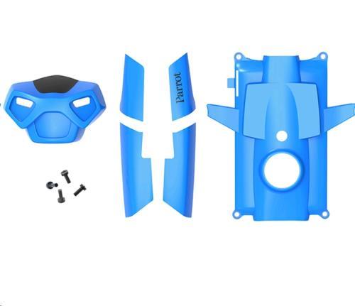 Jeu de 5 coques Rolling Spider de couleur bleue (2 coques latérales avant, 2 coques latérales arrière, 1 coque inférieure et 1 tête). Livré avec 4 vis.