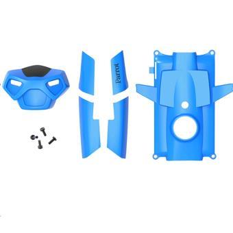 Set van 5 Parrot-rompen voor MiniDrone Rolling Spider blauw