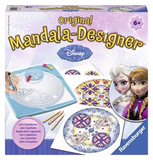 Mandala Designer Licence Frozen La Reine des Neiges Ravensburger