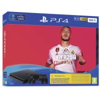 PS4 500gb + Fifa 20 + PS 14 days extra contro