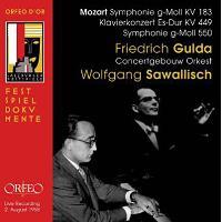 Symphonies KV 183 et 550 - Concerto pour piano KV 449