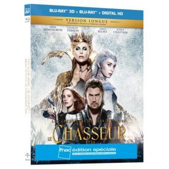 Le Chasseur et la Reine des Glaces Edition spéciale Fnac Blu-ray 3D + 2D + UV