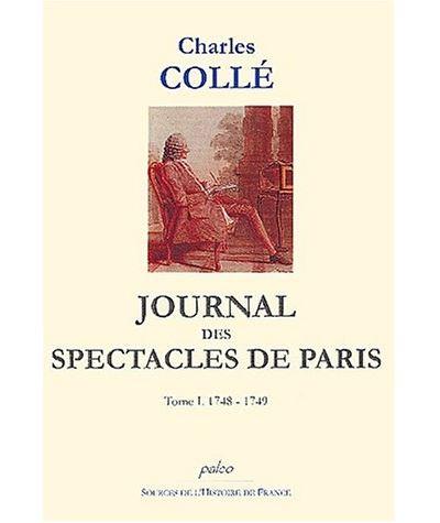 Journal des spectacles de Paris