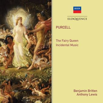 Fairy queen/incidental music/aldeburgh 1970