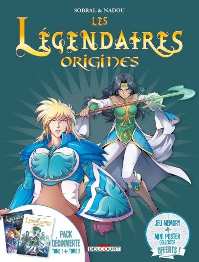 Les Légendaires - Coffret Fourreau Tome 1 et Tome 2 Tome 1 : Fourreau tome 1 légendaires origines + tome 2 légendaires origines