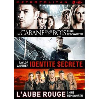 Coffret Teenagers  La cabane dans les bois, L'aube rouge, Identité secrète DVD