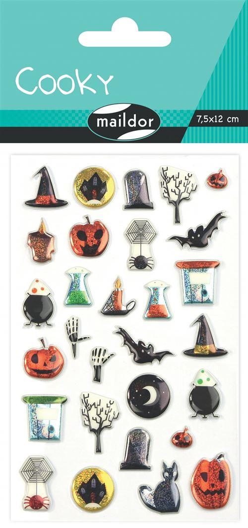 Stickers Maildor Cooky Halloween