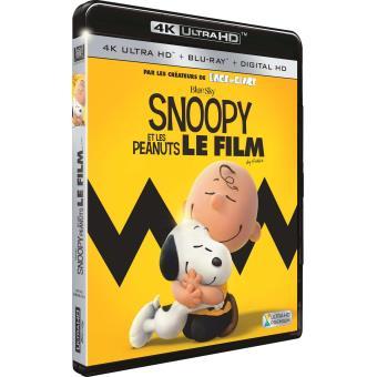 Snoopy et les PeanutsSnoopy et les Peanuts le film Blu-ray 4K Ultra HD