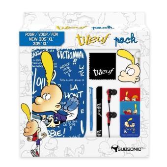 Pack accessoires Subsonic Titeuf pour New Nintendo 3DS XL