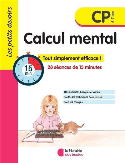 Petits devoirs - calcul mental cp 2019