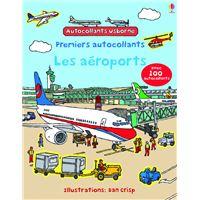 Les aéroports - Autocollants Usborne