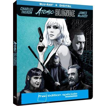 Atomic Blonde Edition spéciale Fnac Steelbook Blu-ray