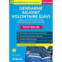 Gendarme Adjoint Volontaire Gav Apja Et Gav Ep Catégorie C Tout En Un épreuves De Sélection 2019 2020