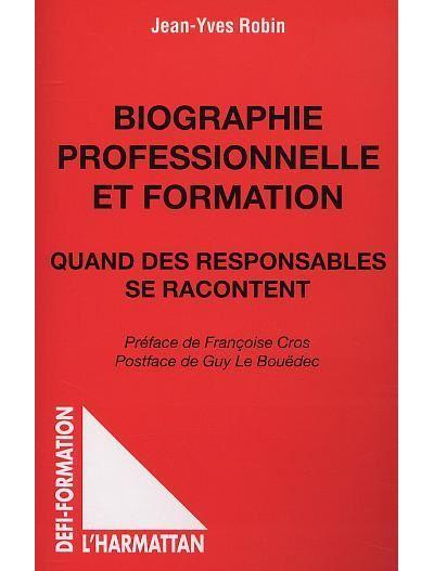 Biographie professionnelle et formation