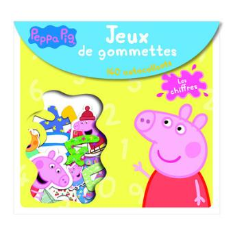 peppa pig jeux de gommettes les chiffres peppa pig jeux de gommettes madeleine c. Black Bedroom Furniture Sets. Home Design Ideas