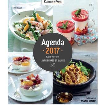 Agenda 2017 Cuisine