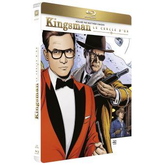 Kingsman, services secretsKingsman: Le Cercle d'or Steelbook Blu-ray