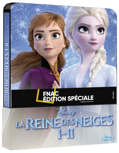 [Débats / BD] Les Blu-ray Disney en Steelbook - Page 13 Coffret-La-Reine-des-Neiges-Steelbook-Edition-Speciale-Fnac-Blu-ray
