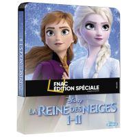 Coffret La Reine des Neiges Steelbook Edition Spéciale Fnac Blu-ray