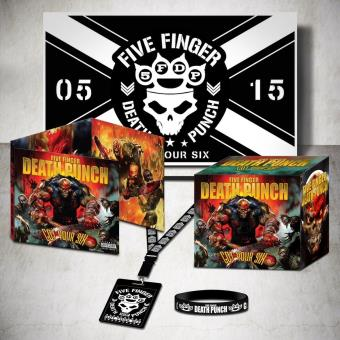 got your six coffret five finger death punch cd album achat prix fnac. Black Bedroom Furniture Sets. Home Design Ideas