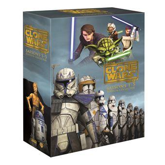 Star Wars : The Clone WarsCoffret intégral des Saisons 1 à 5 - DVD