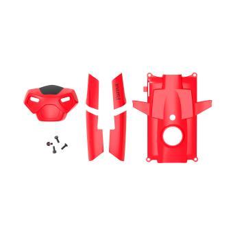 Set van 5 Parrot-rompen voor MiniDrone Rolling Spider rood