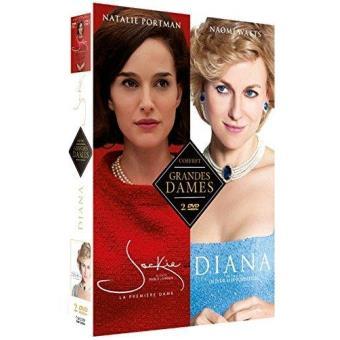 Grandes dames/coffret/jackie/diana