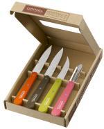 OPIN Coffret Couteaux de Cuisine Opinel Les Essentiels Fifties