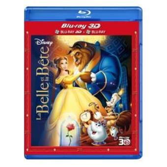 La belle et la bêteLa Belle et la Bête - Combo Blu Ray 3D + Blu Ray 2D