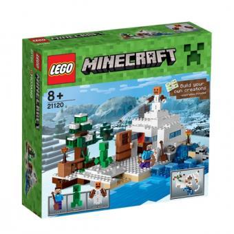LEGO MINECRAFT 21120 - DE SNEEUWSCHUILPLAATS