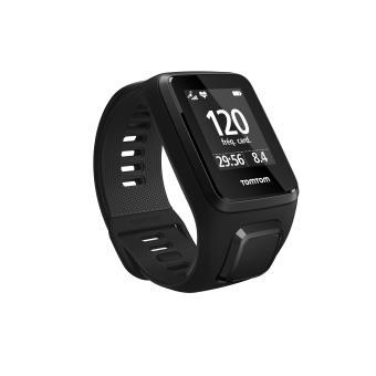 Multisport TomTom Spark 3 Cardio GPS Smart Watch Zwart Maat L