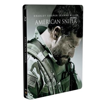 American Sniper Edition limitée Steelbook Blu-ray