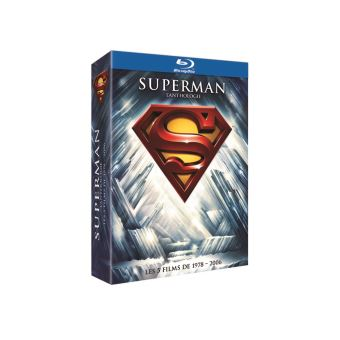 SupermanCoffret Superman L'anthologie Blu-ray