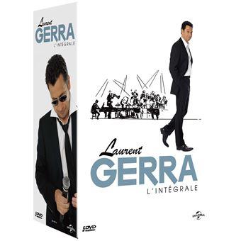 Coffret Laurent Gerra 5 spectacles DVD
