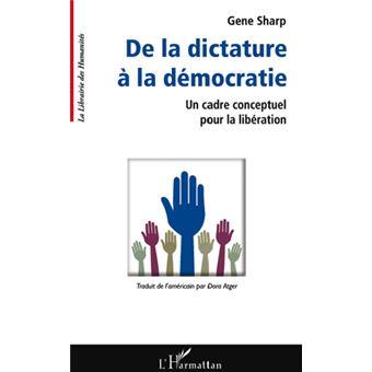 gene sharp de la dictature à la démocratie