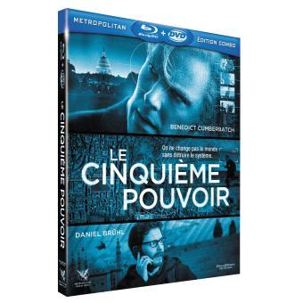 Le cinquième pouvoir Combo Blu-Ray + DVD