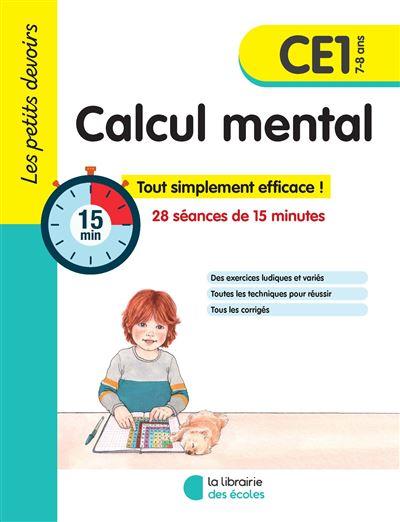 Les petits devoirs 2019 CE1 calcul mental