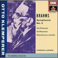 Symphonie N°2 - Rhapsodie pour contralto - Choeur d'hommes
