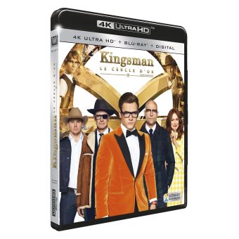 Kingsman, services secretsKingsman: Le Cercle d'or Blu-ray 4K Ultra HD