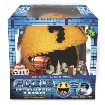 Pixels Combo Blu-ray 3D + 2D - Coffret Collector
