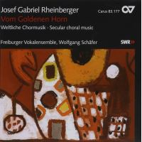 Vom goldenen horn and other choral music
