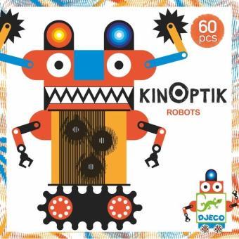 Kinoptik robots Djeco 60 pièces