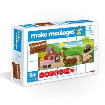 MAKO MOULAGES FERME 6 MOULES
