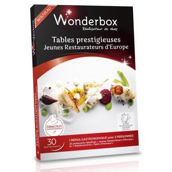 TABLES PRESTIGIEUSES - JEUNES RESTAURATEURS D'EUROPE