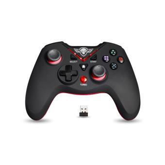 Manette sans fil Spirit of Gamer XPG Noir et Rouge PC et PS3