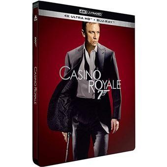 James BondCasino Royale Steelbook Blu-ray 4K Ultra HD