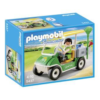 playmobil 5437 summer fun gardien du camping et v hicule de service playmobil achat prix. Black Bedroom Furniture Sets. Home Design Ideas