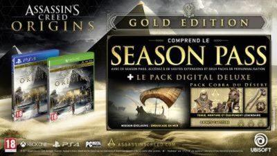 Assassin's Creed Origins Edition Gold Xbox One