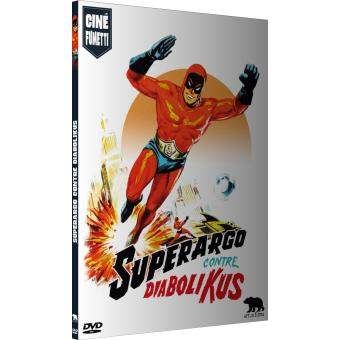 Superargo contre Diabolikus DVD