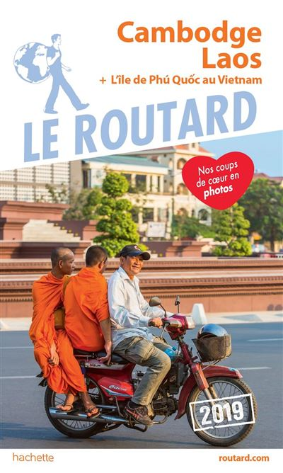 Guide du Routard Cambodge Laos 2019 - 9782017056621 - 10,99 €